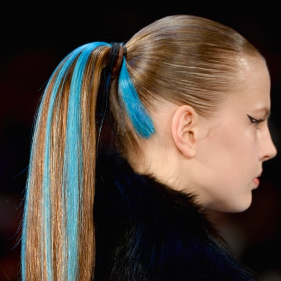 Herve Leger Fall 2014 Hair and Makeup   Runway Pictures