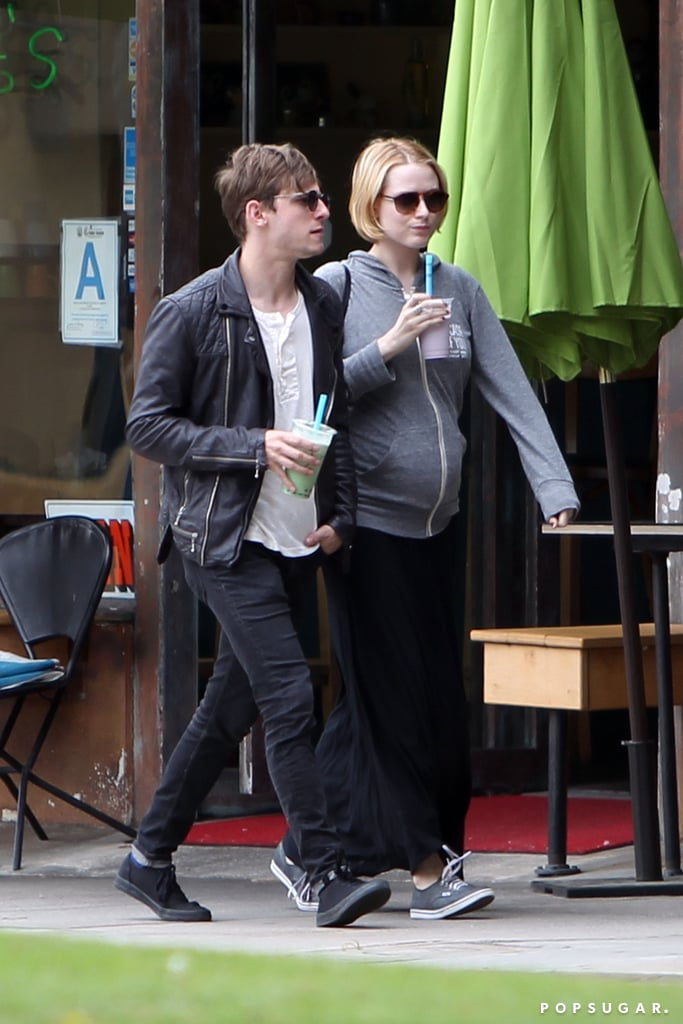 Evan Rachel Wood and Jamie Bell walked in LA together over the weekend.