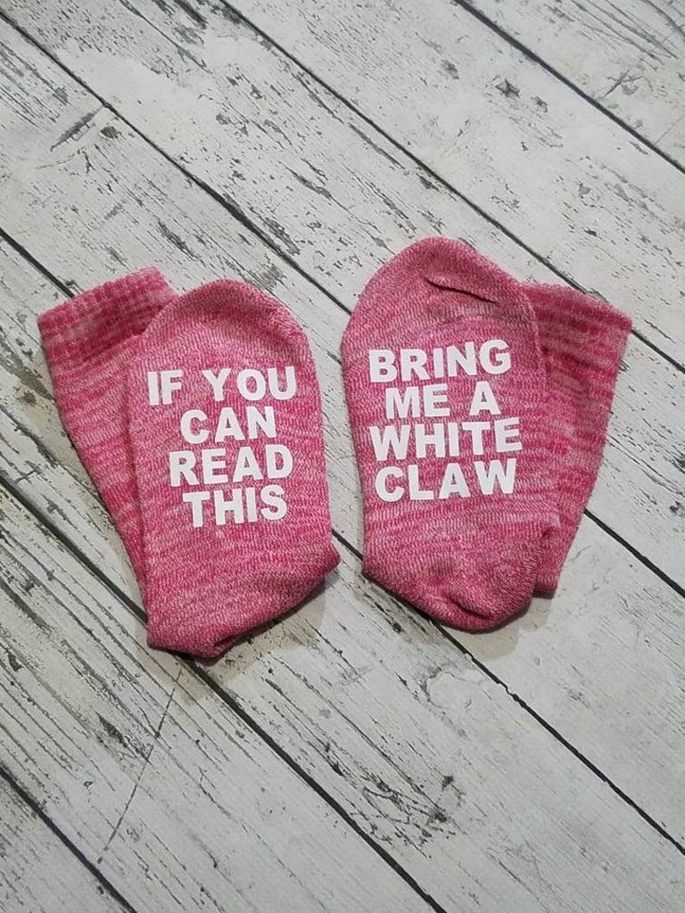 White Claw Socks