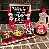 An Elf's Main Food Groups