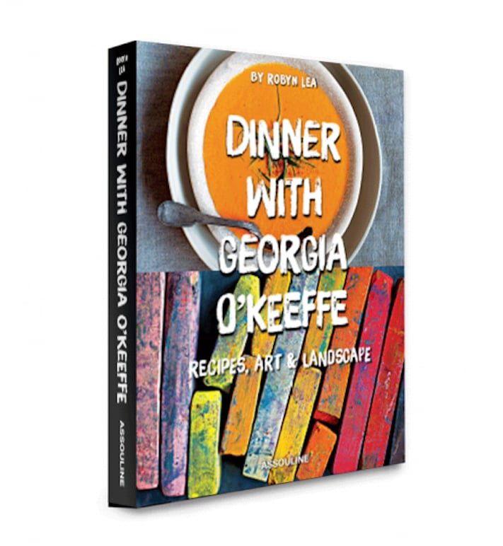 Dinner With Georgia O'Keeffe by Robyn Lea