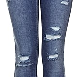 Topshop Ripped Skinny Jeans