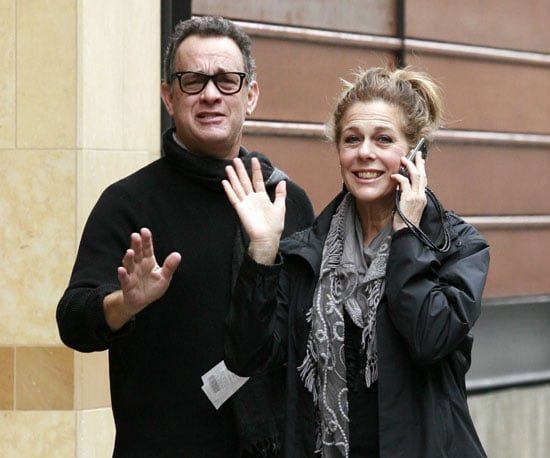 Slide Picture of Tom Hanks and Rita Wilson Shopping at The Grove in LA