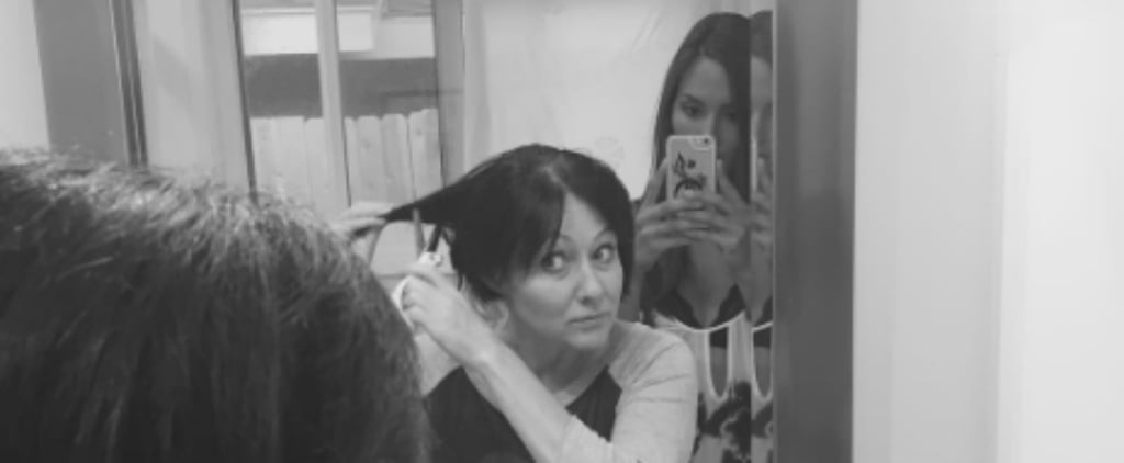 Shannen Doherty Shaves Her Head For Cancer