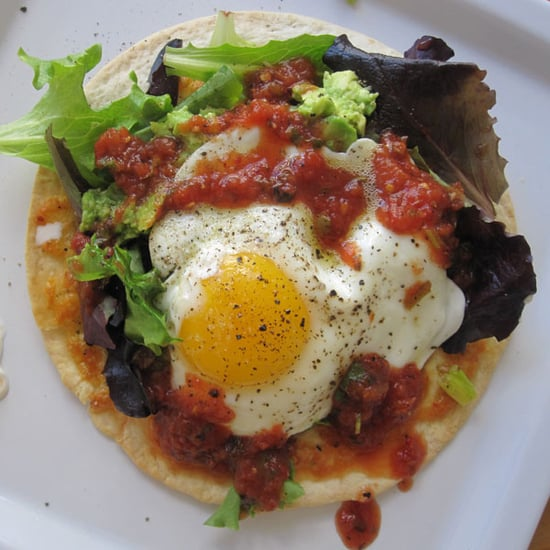 Fried Egg on Tortilla Recipe
