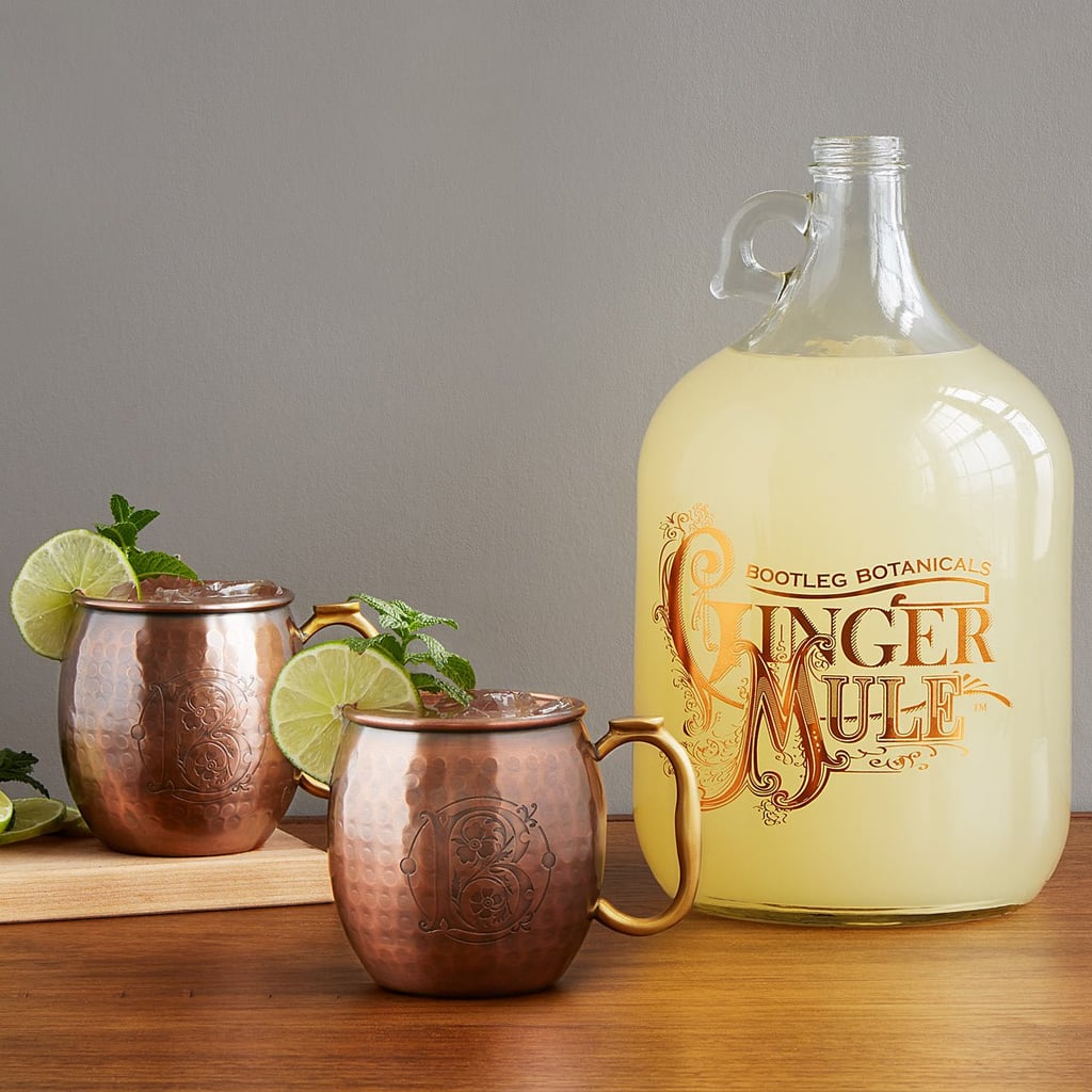 Ginger Beer Making Kit with Copper Mule Mugs