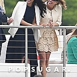 Meghan Markle at Prince Harry's Polo Match May 2017