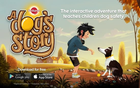 A Dog's Story App Teaches Kids How to Interact Safely With Dogs