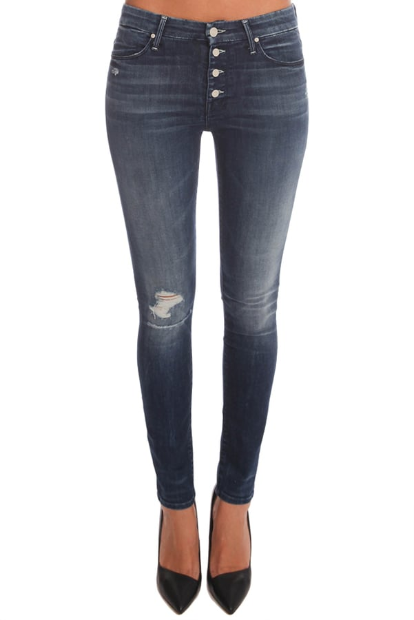 Mother Denim High Waisted Button Front Jean ($215)