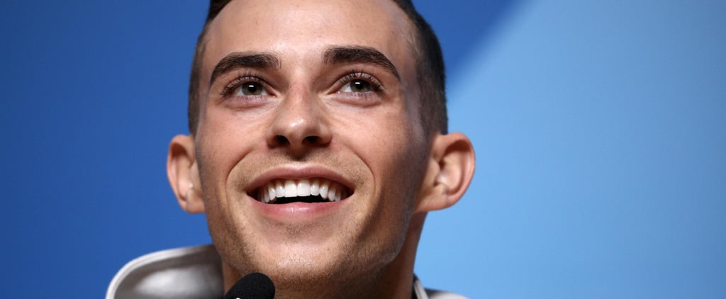 "Adam Rippon's Beauty ""Secret"" Is Everything You Ever Wanted It to Be"