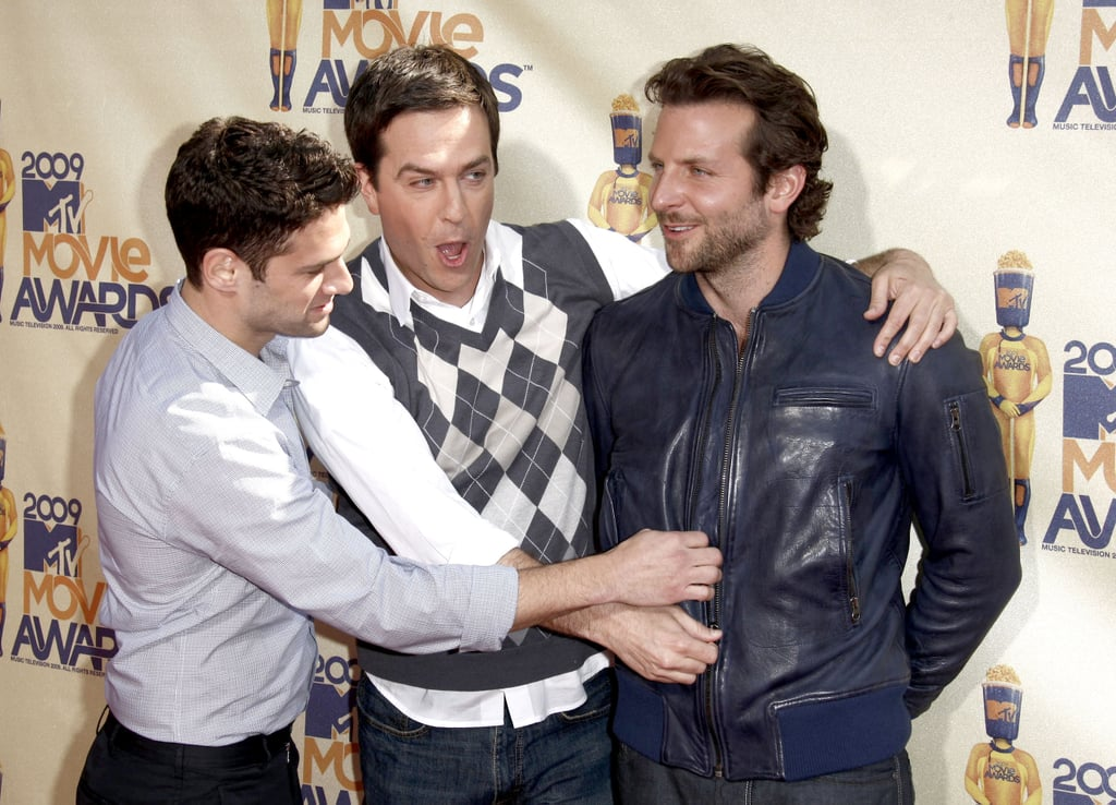 Justin Bartha, Ed Helms, and Bradley Cooper