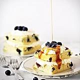 """Baked Blueberry Pancake """"Cake"""""""
