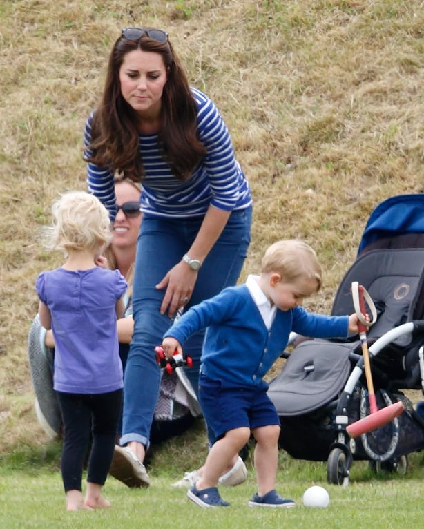 William and Kate are the same age, and even before they made joint friends at university, as teenagers their friends all overlapped. Their social group is entirely blended, so there is no real separation as to who does what and with whom.