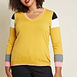 ModCloth Write on Cue Pencil Sweater