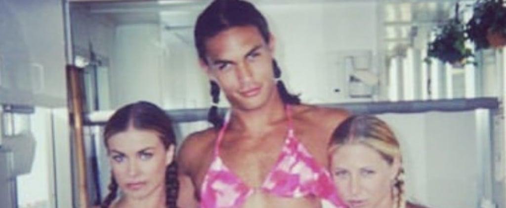 Jason Momoa Bikini Instagram Photo