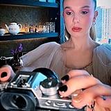 Millie Bobby Brown's Hair & Makeup Godzilla Premiere Beijing