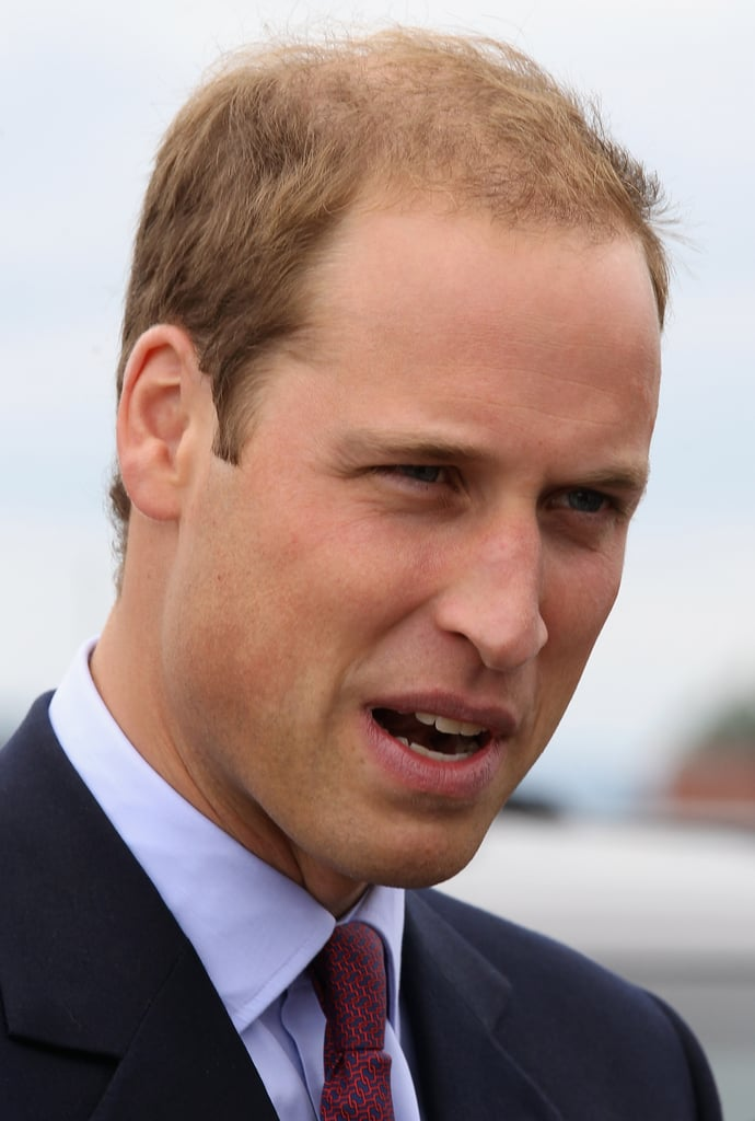 Prince William made a visit to Canada.