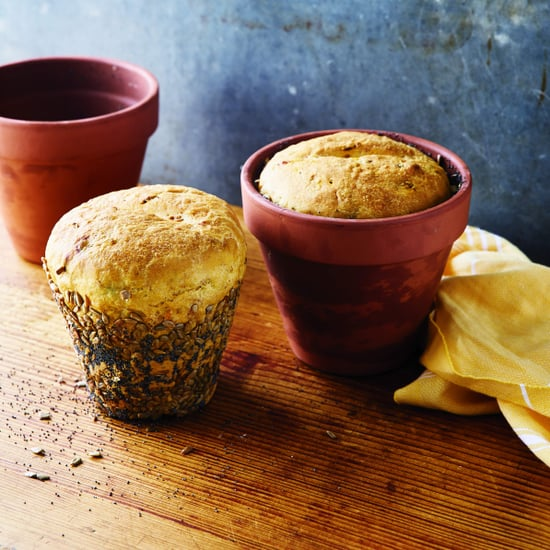 Herb and Veggie Flowerpot Bread