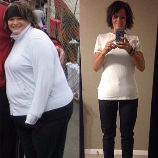 Before and After Weight Loss Amber Lose It! App
