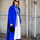 Long, Unbuttoned Top + Duster Coat