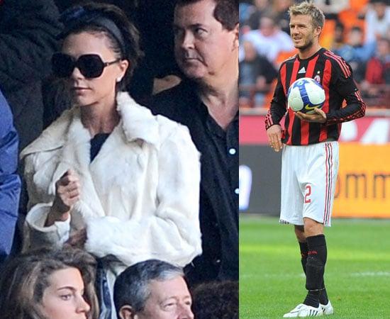 Victoria Beckham at David's Soccer Game