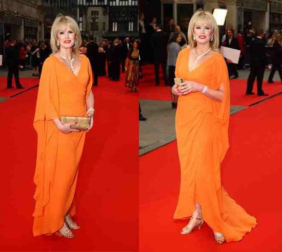 2008 TV Bafta Awards: Joanna Lumley