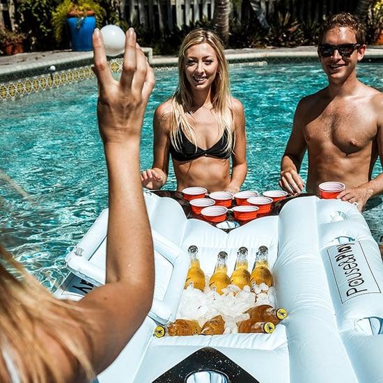 Beer Pong Pool Floats