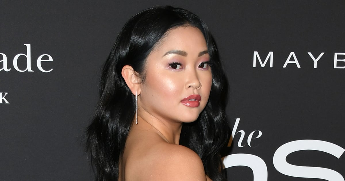 Lana Condor Is Almost Unrecognizable With Her New Pastel Pink Hair.jpg