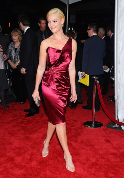 Katherine Heigl was a glam goddess in David Meister at the LA premiere of her new movie, Life as We Know It.