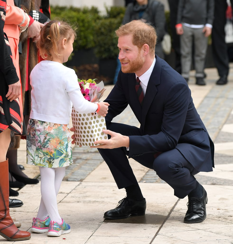 Prince Harry Shows Off His Adorable Dad Skills As He