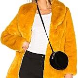 Eaves Gold Rush Fur Coat