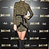 Caitlin Fitzgerald at the Just Cavalli cocktail party.
