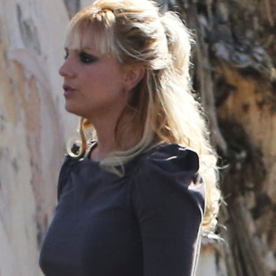 Britney Spears Gets Bangs