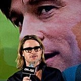 Brad Pitt spoke about producing ambitions in Seoul.