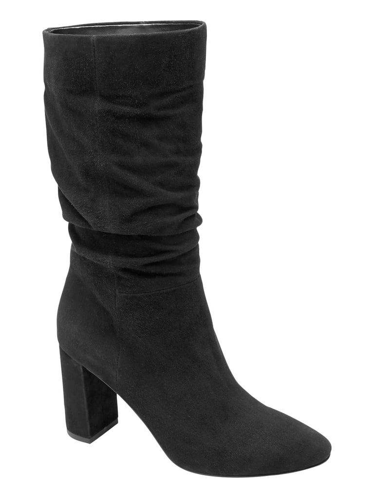 High-Heel Slouchy Boot