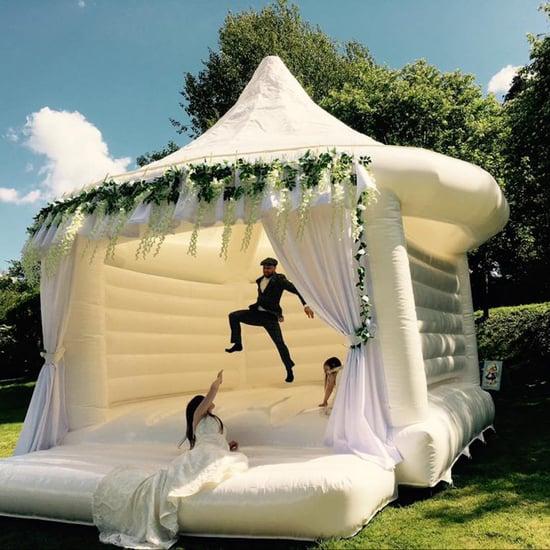 Wedding Bouncy Castle Trend