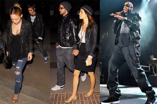 Photos of Celebs Attending the Jay-Z Show in LA 2009-11-09 10:56:26
