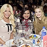 Gigi Gorgeous, Mindy Kaling, and Rebecca Rittenhouse