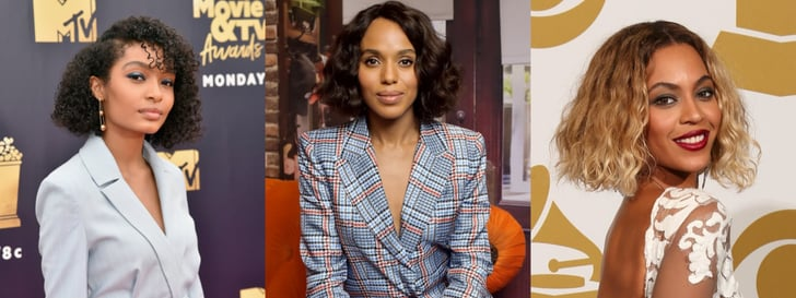 Best Celebrity Wavy And Curly Bob Haircuts Popsugar Beauty