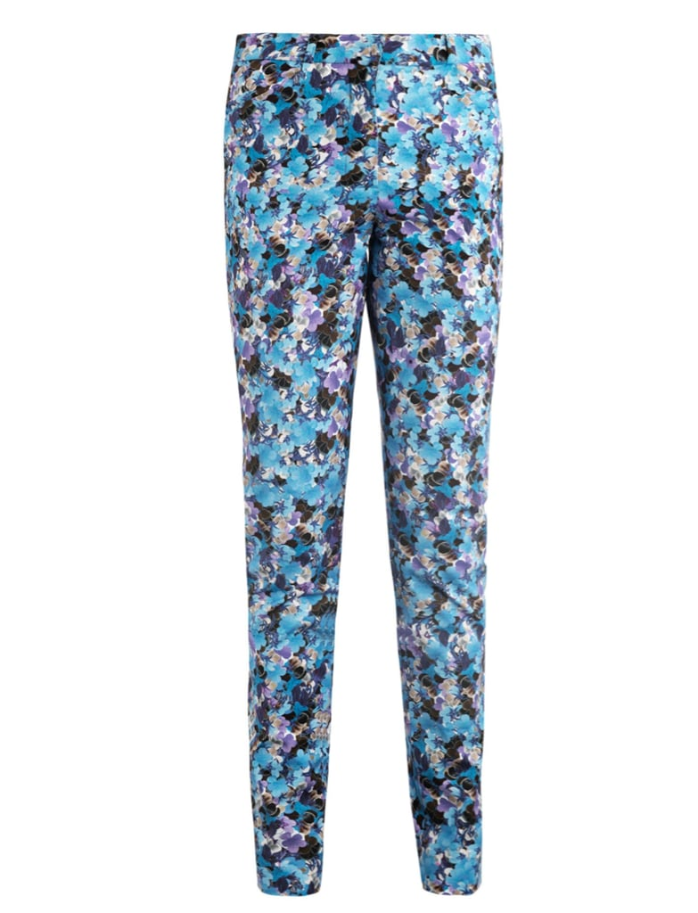 Esmeralda Kabuki-sky print trousers ($796)