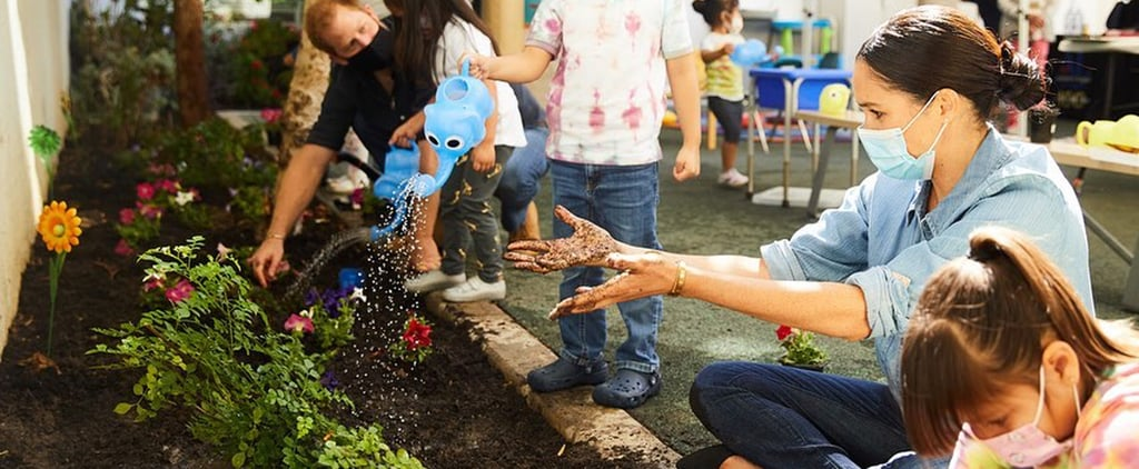 Meghan Markle's Gardening Outfit at Learning Centre in LA