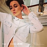 """What is so cool about Erin and Kirsty is that they were both branded supermodels relatively early on in their careers but remained totally unaffected,"" said Rag & Bone cofounder Marcus Wainwright. ""They also really own their unique beauty."" Erin O'Connor for Rag & Bone's DIY Project. Photo courtesy of Rag & Bone"
