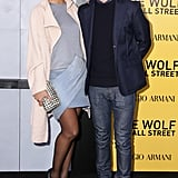 Hannah Bronfman and Brendan Fallis at New York's The Wolf of Wall Street premiere.