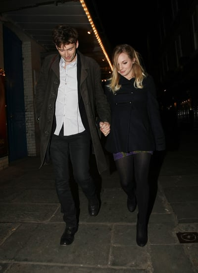 Pictures of David Tennant and His Pregnant Fiancee Georgia Moffett