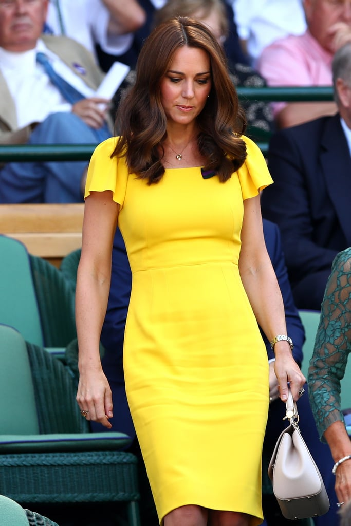 Kate Middleton's Stunning Yellow Dress Will Bring a Smile to Anyone's Face — Just Look at Prince William's!
