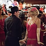 Michael Trevino as Tyler and Candice Accola as Caroline on The Vampire Diaries.