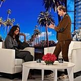Michelle Obama Talks About Malia's Prom on Ellen 2018