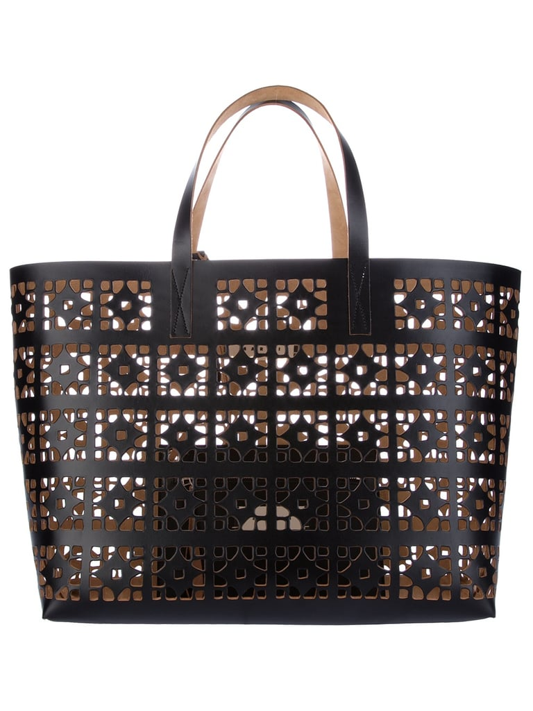 Marni's perforated carryall is pretty much the perfect beach bag.  Marni Perforated Tote ($849)