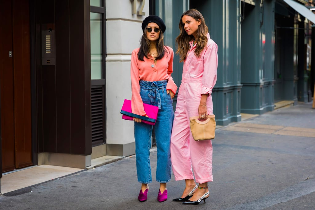 London Fashion Week Street Style Spring 2018 Popsugar Fashion
