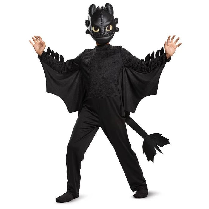 Toddler Boys Toothless Classic Halloween Costume